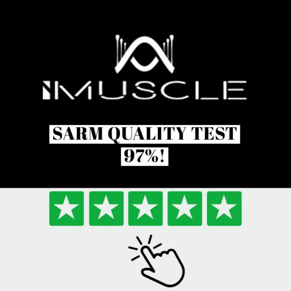 iMuscle SARMS RAD140 quality tested 97%