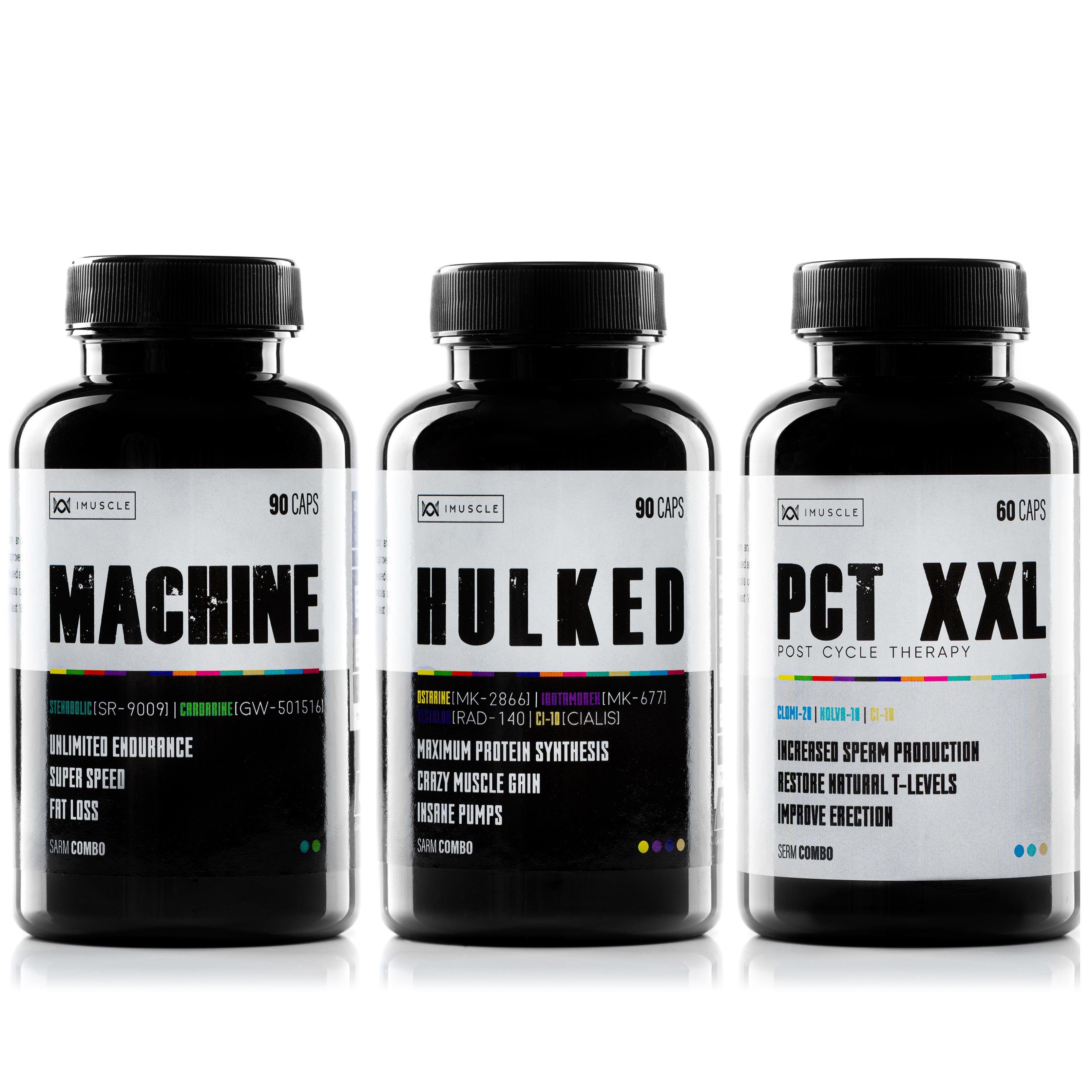 iMuscle STACK MACHINE, HULKED, PCT – XXL