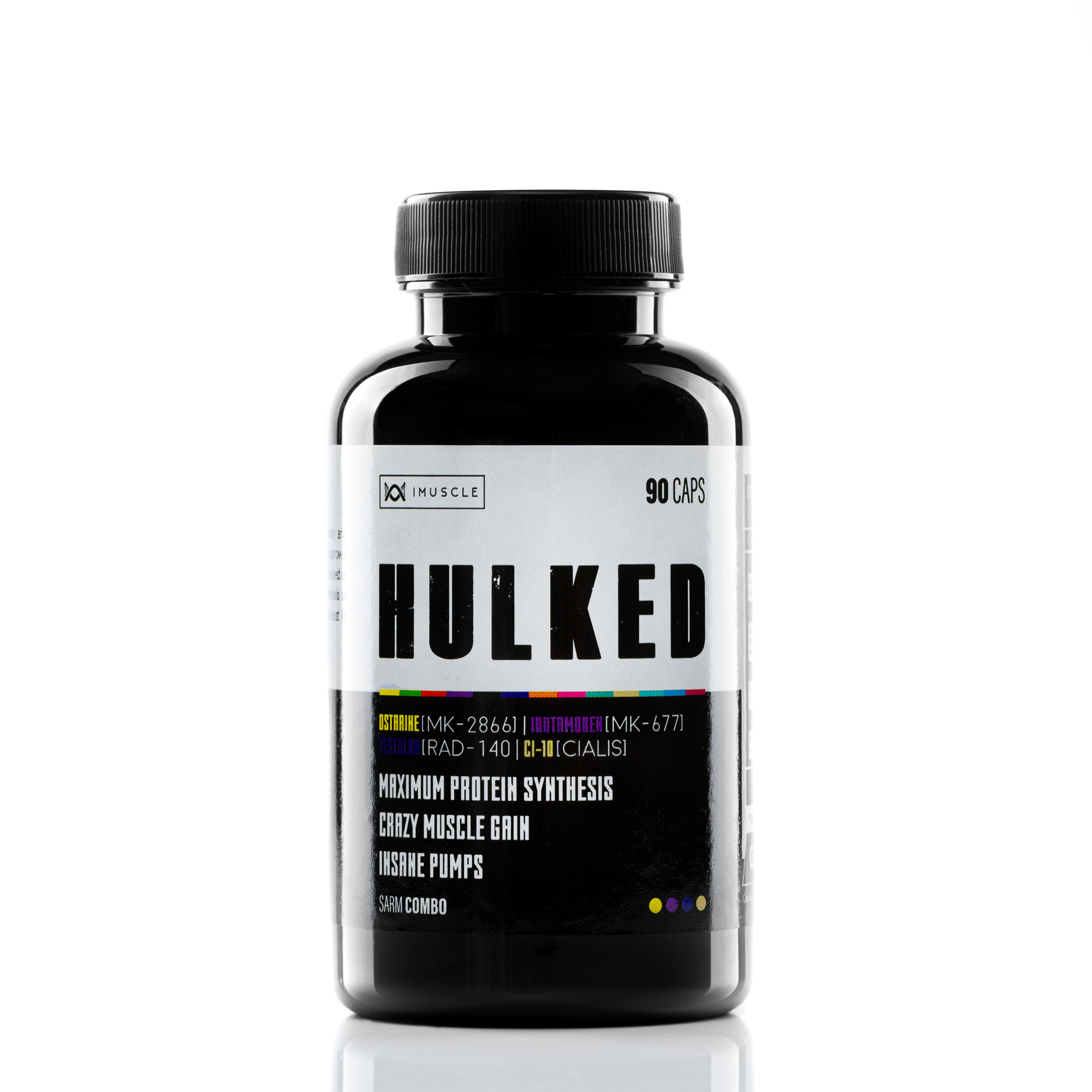iMuscle Hulked Combo SARMs